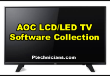 All AOC LCD/LED TV Firmware/Software Download