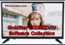 All GoldStar LCD/LED TV Software Collection Download
