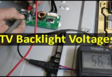 All LCD/LED TV Backlight Voltages Details