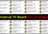 All Universal LCD/LED TV Board Circuit Diagram PDF Download