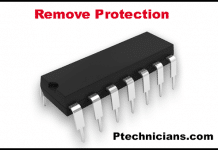 TV Inverter IC Remove Protection