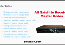 All Brands Satellite Receiver Master Code Collection 2021