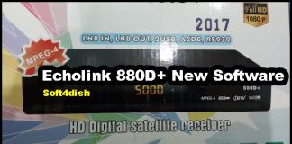 Echolink 880D+ New Software 2020 Download